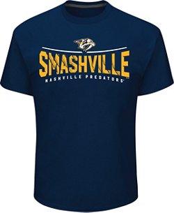 Majestic Men's Nashville Predators Smashville T-shirt