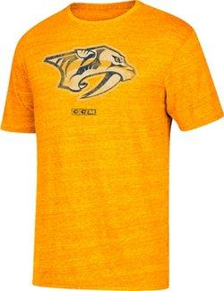 adidas Men's Nashville Predators Logo Distreed T-Shirt