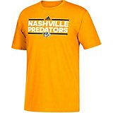 adidas Men's Nashville Predators Wordmark T-Shirt