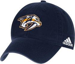 adidas Men's Nashville Predators Adjustable Slouch Cap