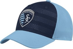 adidas Men's Sporting Kansas City Authentic Structured Flex Cap
