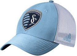 adidas Men's Sporting Kansas City Structured Flex Mesh Snapback Cap