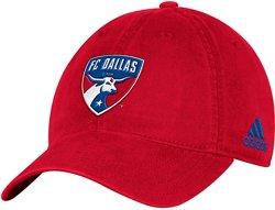 adidas Men's FC Dallas Adjustable Slouch Cap