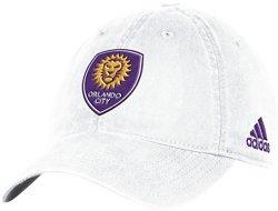 adidas Men's Orlando City SC Adjustable Slouch Cap
