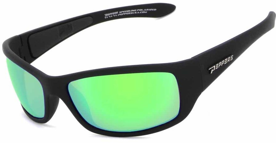 Peppers Polarized Eyeware Cutthroat Mirrored Sunglasses - view number 1