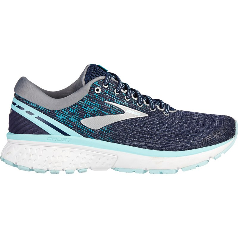 a352ad32e84 Brooks Women s Ghost 11 Running Shoes Navy Blue Light Blue