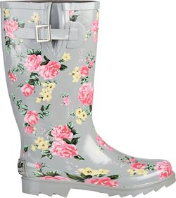 Austin Trading Co. Women's Floral Rubber Boots