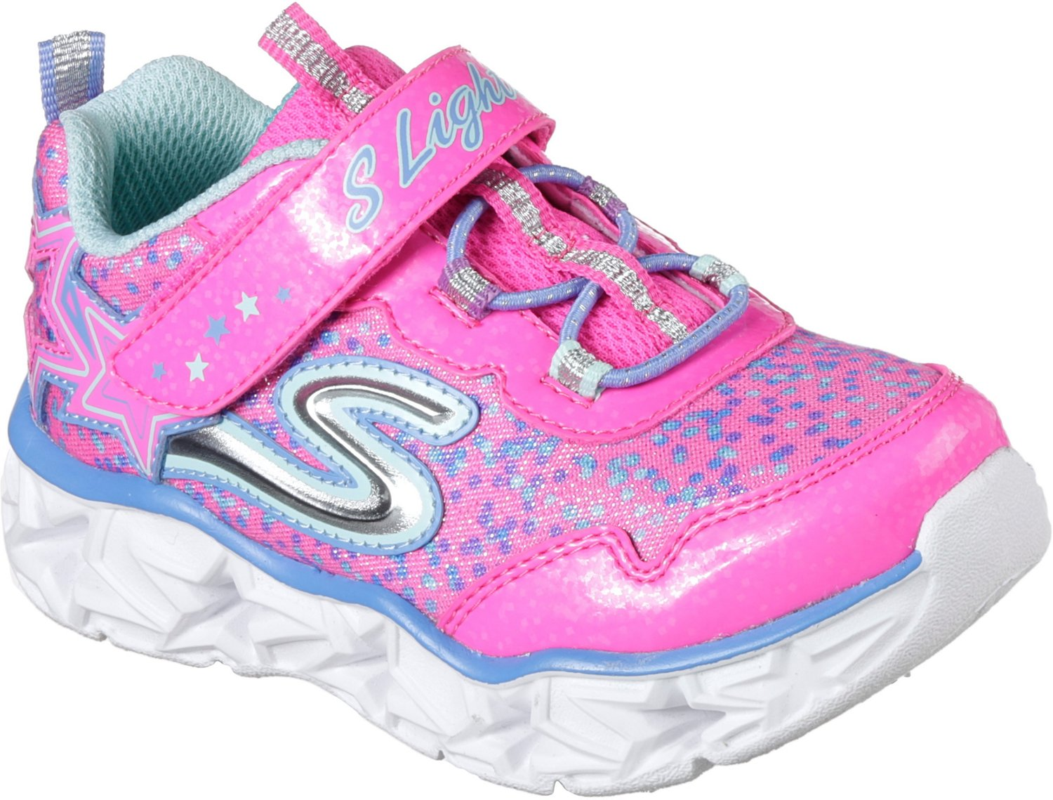 28c8a291a5020 Display product reviews for SKECHERS Toddler Girls  S Lights Galaxy Lights Running  Shoes
