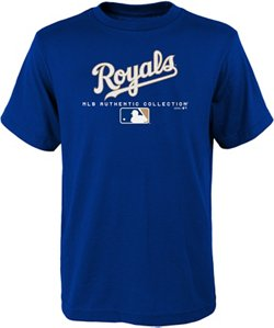MLB Boys' Kansas City Royals Team Drive On-Field Authentic T-shirt