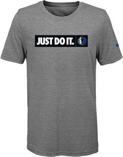 Nike Boys' Dallas Mavericks Just Do It Team T-shirt