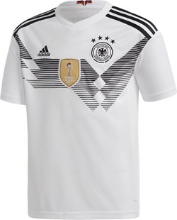 adidas Boys' 2018 Germany Home Replica Jersey