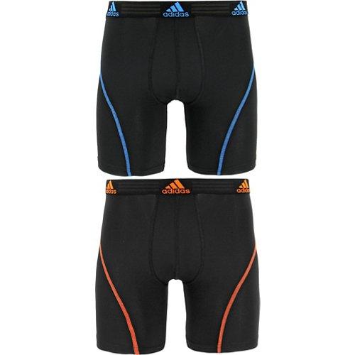 adidas Men's Sport Performance Boxer Briefs 2-Pack