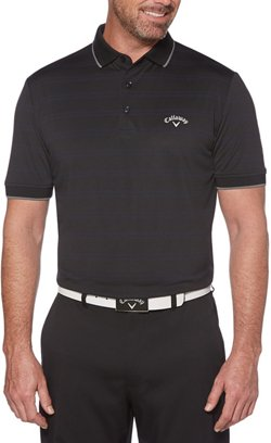Callaway Men's Horizontal Texture Polo Shirt