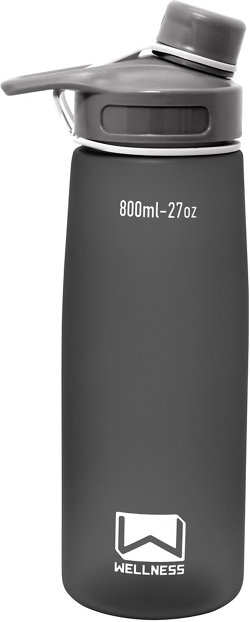 Wellness 27 oz Sports Water Bottle