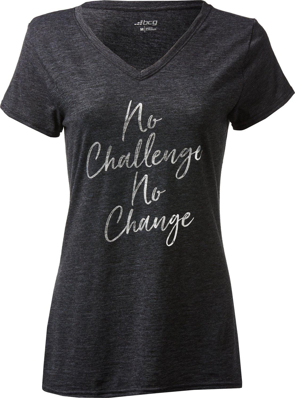 BCG Women's Graphic V-neck T-shirt