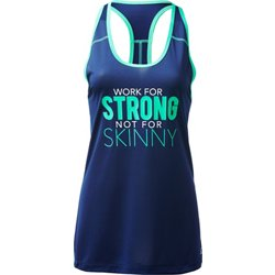 Women's Athletic Strong Skinny Graphic Tank Top