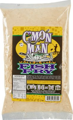 C'mon Man 16 oz Seasoned Fish Fry Coating