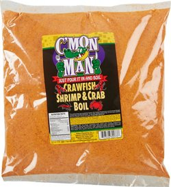 C'Mon Man 64 oz Crawfish Shrimp and Crab Boil Seasoning
