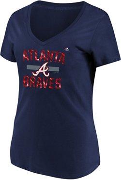 Majestic Women's Atlanta Braves Relentless Attack T-shirt