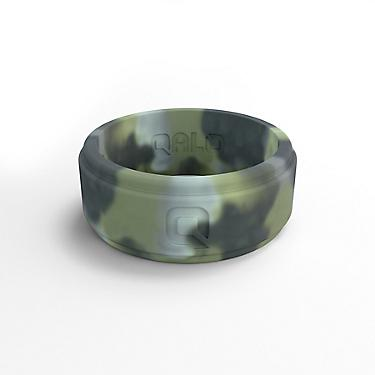 Silicone Wedding Ring.Qalo Men S Step Edge Camo Silicone Wedding Ring