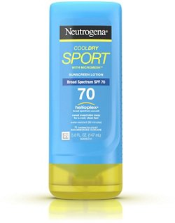 Neutrogena CoolDry SPF 70 Sport 5 oz Sunscreen Lotion