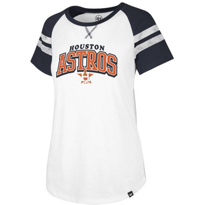 47 Women s Houston Astros Fly Out Raglan 3 4 Sleeve T-Shirt  255f31df7