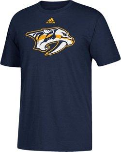 adidas Men's Nashville Predators Logo T-Shirt