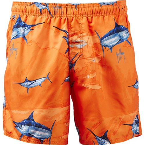 Guy Harvey Men's Armada Volley Swim Trunks