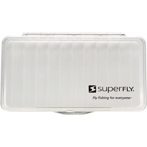 Superfly Clear Ripple Large Fly Box