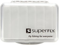 Superfly Clear Ripple Small Fly Box