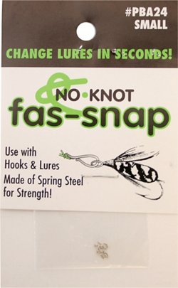 Kipper PBA24 No Knot Small Fas-Snaps 5-Pack