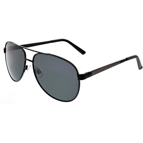 Maverick Lifestyle Metal Aviator Polarized Sunglasses