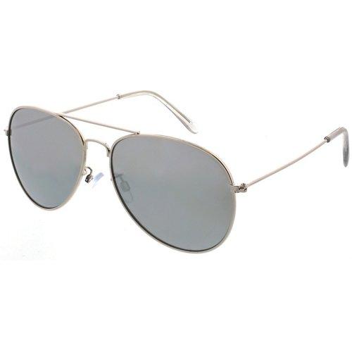 Maverick Thin Metal Aviator Sunglasses