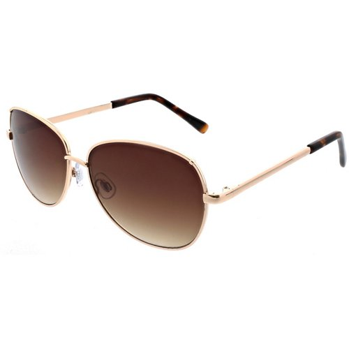 SOL PWR Lifestyle Rectangle Metal Butterfly Sunglasses