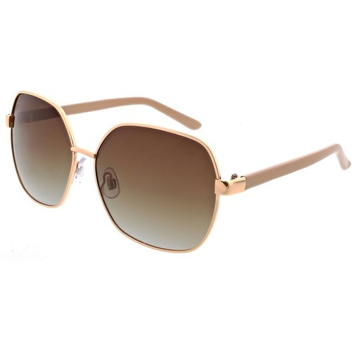 SOL PWR Lifestyle Polarized Rectangle Butterfly Sunglasses