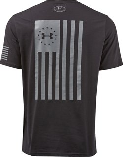 Men's Freedom Flag Bold Graphic T-shirt