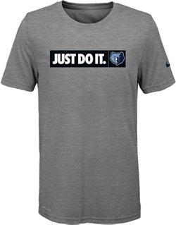 Nike Boys' Memphis Grizzlies Just Do It Dri-FIT T-shirt