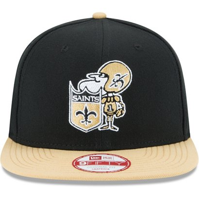 ... Men s New Orleans Saints 9FIFTY Baycik Historic Snapback Cap. New  Orleans Saints Headwear. Hover Click to enlarge 9172792fa
