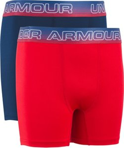 Under Armour Boys' American Boxers 2-Pack