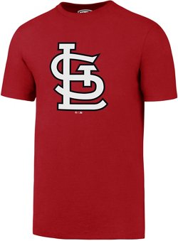 '47 Men's St. Louis Cardinals Imprint Super Rival Short Sleeve T-Shirt