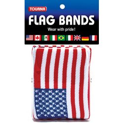 USA Flag Wristbands 2-Pack