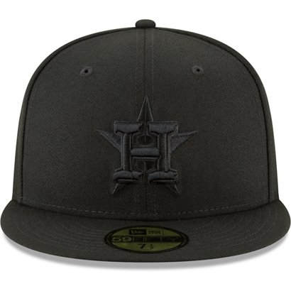 50748bf9a05 ... New Era Men s Houston Astros Basic Fitted 59FIFTY Cap. Astros Hats.  Hover Click to enlarge