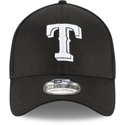 Men's Texas Rangers Neo 39THIRTY Black Out Cap