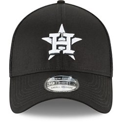 Men's Houston Astros Neo 39THIRTY Black Out Cap