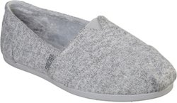 SKECHERS Women's Bobs Plush Winter Surprise Slip-on Shoes
