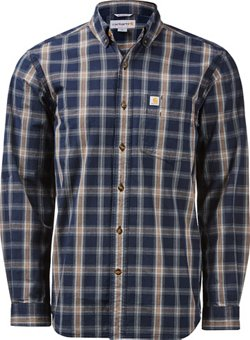 Carhartt Men's Essential Plaid Button Down Shirt