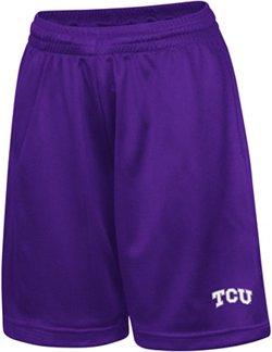 Colosseum Athletics Kids' Texas Christian University Basic Mesh Shorts