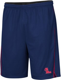 Colosseum Athletics Men's University of Mississippi Embroidered Mesh Shorts