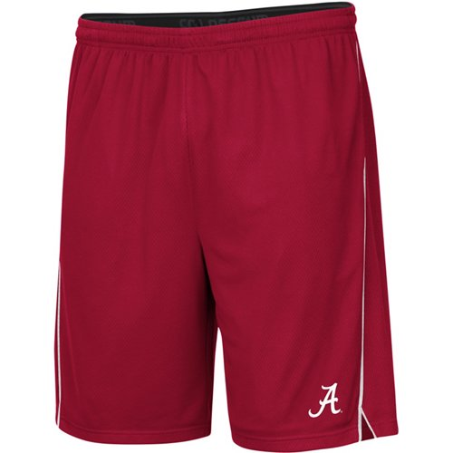 Colosseum Athletics Men's University of Alabama Embroidered Mesh Shorts