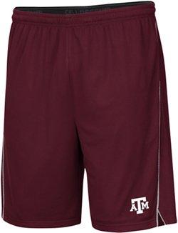 Colosseum Athletics Men's Texas A&M University Embroidered Mesh Shorts